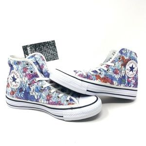 Converse Chuck Taylor All Star Floral Crochet